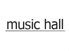 Music Hall Audio